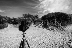 Not The Usual Medium (2016).  The Mamiya RB67 Medium Format film camera is a large and heavy beast & by no means my usual format. I am coming to the pointy end of my University Trimester and will be taking up residence in the darkroom to finish this last assignment.  Barwon Heads, Vic. Australia.  Image: © Gary Light. Creative Commons: (CC BY-NC-ND 4.0).