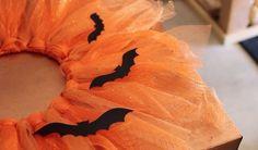 quick and easy halloween wreath