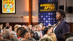 A dialogue about race relations in the aftermath of June 2015's Charleston church shooting