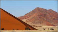 Sossusvlei dunes, Namib desert
