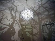 Ces incroyables lustres sont créés par Hilden Diaz et servent à créer une atmosphère subtile.