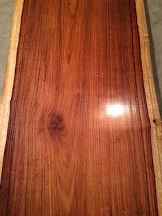 This listing is for finished slabs of Granadillo that are great for tables, small breakfast bars, large bar tops, mantels, shelves, and
