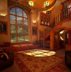 Fairy Tale Cottage Interiors | English Cottage House Plans . . . Storybook Style!