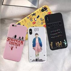 Best Offer of Stranger Things Christmas Lights Case For iphone 7 8 Plus X SE Soft Matte rainbow silicone Phone Cases Back Funda Cover