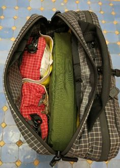 16d22824b4 ... Personal carry-on size travel bag - TOM BIHN. See more. Lead s Pocket  sitting within Co-Pilot with two full 3d Cubes Cubes