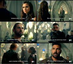 """#TheShannaraChronicles 1x03 """"Fury"""""""