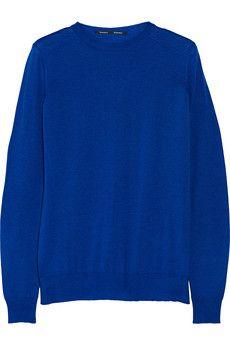 Proenza Schouler Fine-knit merino wool sweater | NET-A-PORTER