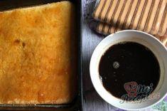 Prudce návykový salko koláč dvou barev - fotopostup | NejRecept.cz Pudding, Food, Puddings, Meals