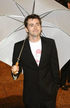 PHOTOS: David Tennant At The World Premiere Of Harry Potter And The Goblet Of Fire #ThrowbackThursday