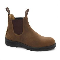Style 561   Crazy Horse leather elastic sided boots   Blundstone
