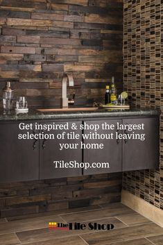 Shop our huge selection of bar tile and get expert advice and assistance from The Tile Shop. Bar Tile, Rustic Bathroom Designs, The Tile Shop, Vintage Industrial Furniture, My New Room, Bathroom Interior, Kitchen Design, Kitchen Decor, Small Bathroom