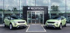 Drop by the showroom tomorrow and say hello to our new meet and greet Colima Lime #Evoque twins #motorhappy pic.twitter.com/u4KruUmfKT