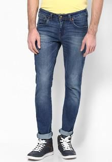 Stylish, Latest Fasionable & Well Designed Wrangler Blue Skinny Fit Jeans men features product specifications, reviews, ratings, images, price chart and more to assist the user