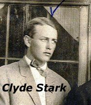 """This is a photo of Clyde Stark, the fella my grandmother threw out after her kids had started school.  Our name should be Stark.  Where """"Corey"""" came from is anybody's guess."""