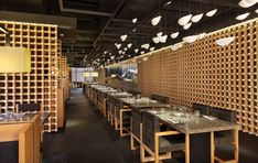Yakiniku Master Restaurant Design by Golucci International Design - Architecture & Interior Design Ideas and Online Archives | ArchiiiArchiii