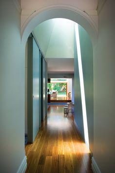 Smith Residence | ArchitectureAU  //skylight!