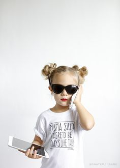 Momma said there'd be days like this. Product Styling and Photography by Shay Cochrane. Shirt by Little Adi and Co.