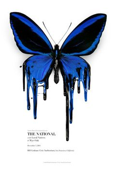 The national gig poster by There is.