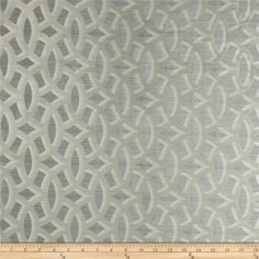 HGTV HOME Backlit  Satin Jacquard Platinum from @fabricdotcom  Refresh and modernize any home decor with this lightweight satin jacquard fabric. This fabric is a perfect weight for window treatment (draperies, curtains) accent pillows, upholstering furniture, headboards, poufs and ottomans. Colors include grey and silver.