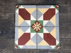 A bold geometric pattern sure to add a hit of colour to'_Îâ'__your kitchen, hallway or fireplace creating a bright backdrop for your range oven or for a colour Backdrops, Tiles, Blanket, Rugs, Pattern, Stairs, Color, House, Home Decor