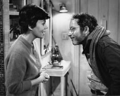 "Marsha Mason & Richard Dreyfuss in ""The Goodbye Girl"" Richard Dreyfuss - Best Actor 1977 Marsha Mason, The Goodbye Girl, What About Bob, American Graffiti, Movie Themes, Close Encounters, Drama Film, Couple Portraits, Classic Movies"