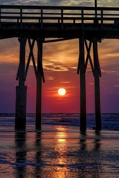 Sunrise in North Topsail Beach, North Carolina