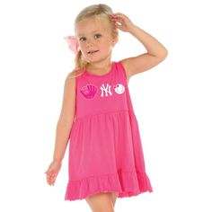 New York Yankees Toddler Dress by Soft as a Grape - MLB.com Shop