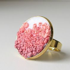 What a ring! #handmade