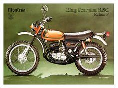 Montesa 250 King Scorpion Motorcycle