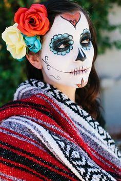 Visages Halloween maquillage – 30 Exemples simples avec des Gruseleffekt - 7 | De manière similaire, lorsqu'on pense à un effrayant visage de poupée maquillage souhaite De cette Façon, un maquillage, c'est un Visage n'est pas trop effrayant #tutorieldemaquillage #maquillagepasàpas #maquillagefacile