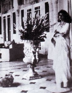 Maharani Gayatri Devi at Rambagh Palace, 1943 by Doc Kazi, via Flickr