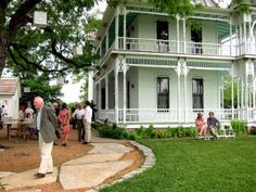 Barr Mansion in Austin Texas. The first Green certified venue in the United States.
