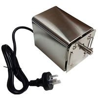 Stainless Steel Rotisserie BBQ Spit Motor Capacity - 9348676000919 For Sale, Buy from Spit Rotissery Motors collection at MyDeal for best discounts. Bbq Spit, Kebab Skewers, Stainless Steel Bbq, Charcoal Bbq, Design System, Australia Living, Outdoor Cooking, Battery Operated, Canning