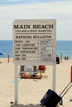 Main Beach, East Hampton, NY