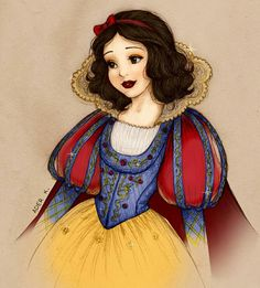 Snow White the lovely and beautiful princess Disney Princess Snow White, Snow White Disney, Disney Princess Art, Disney Fan Art, Disney Love, Disney Princesses, Snow White Drawing, Snow White Art, Snow White Wallpaper