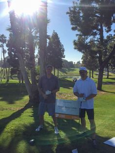 #WareMalcomb Director of #Healthcare Design, Michael Petersen, and Principal of #CommercialArchitecture, Tom Myers, soaked up the sun at the OC Charity Classic Golf Tournament.  The 7th annual golf tournament benefits the #OC Rescue Mission. #WMIrvine