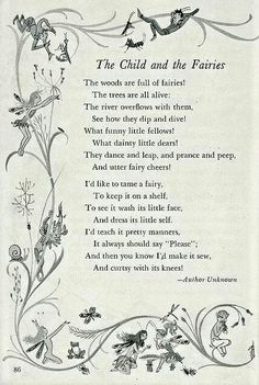 The child and the fairy