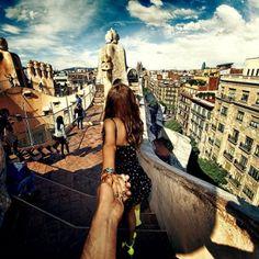 Follow me to... #Barcelona #ParcGüell