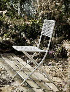 Gartenstuhl Weiß Von NORDAL 1