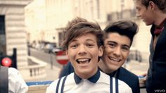 Louis & Zayn - one-direction Screencap