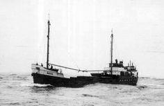1938 - Navio Secil no rio Douro.