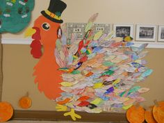 A feather for every kid in the school. We have much to be grateful for