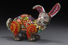 Unique beaded sculptures by Besty Youngquist