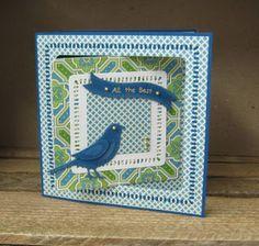 The Stamp Pad: Little Birdie Little Birdie, Stamp Pad, Paper Crafts, Frame, Cards, Inspiration, Decor, Biblical Inspiration, Decorating
