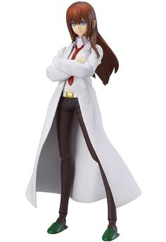 figma steins / gate makise red Rina sumoto white ver.... (Non scale ABS&PVC painted action figure) on Amazon.co.jp | Ship internationally via Jzool.com