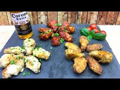 3 Best Chicken wings recipes - very easy with subtitles Best Chicken Wing Recipe, Chicken Wing Recipes, Tandoori Chicken, Chicken Wings, Treats, Dishes, Ethnic Recipes, Easy, Food