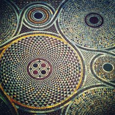 The mind blowing marble floor patterns in The Basilica San Marco #Design #Italy #Marble #Decor #History #Fortuny