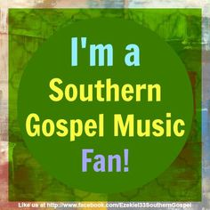 Thank you, Daddy, for the influence of Southern Gospel Music in our home❤️