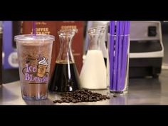 ▶ The Coffee Bean & Tea Leaf's Original Ice Blended Coffee Drink | Get the Dish - YouTube