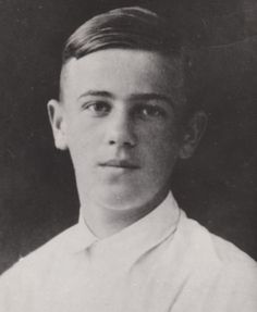 Guri Nikolaevich Kulikovsky, the younger son of Grand Duchess Olga Alexandrovna of Russia.